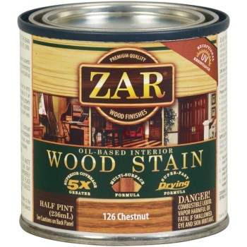 Wood Stain ~ Chestnut, 1/2 Pint