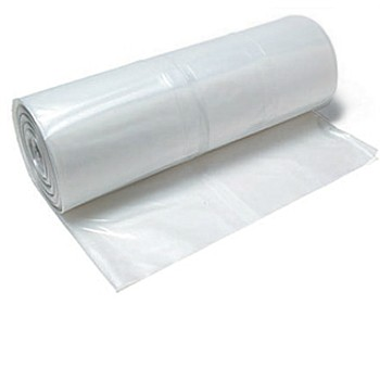 Poly Sheeting ~ Clear,  9' x 400' x 1 mil