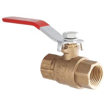 LDR Ind 0201513 1/2 Brass Gas Valve 0201513