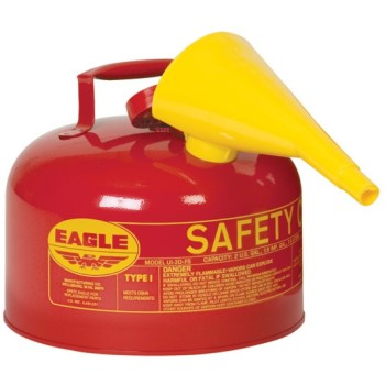 Red Safety Fuel Can  ~ Gallon