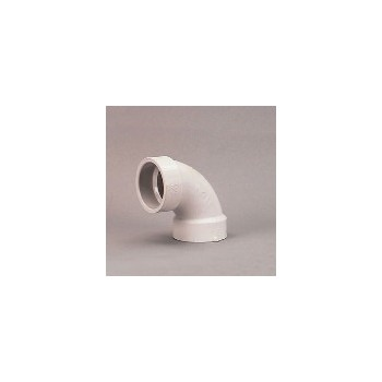 90 Degree Sanitary Elbow, 1 1/2 inch