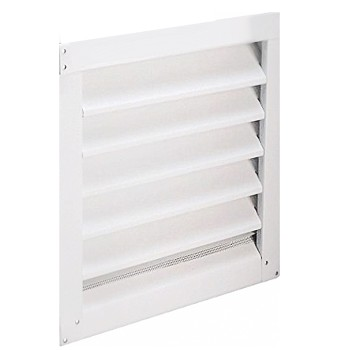 "Air Vent Inc 81232 Gable Ventilators, White ~ 14"" X 24"""