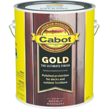 Ultimate Gold Finish Stain, Moonlit Mahogany ~ Gallon