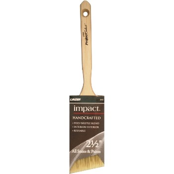 Impact Series Poly Bristle Angle Sash Brush ~ 2 1/2""