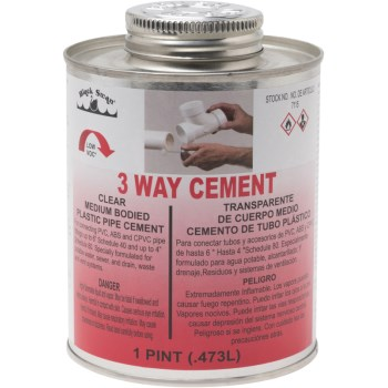 16 Oz 3-Way Med Cement