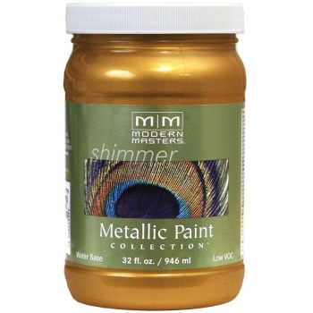 Metallic Paint, Tequila Gold 32 Ounce