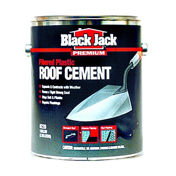 Fibered Plastic Roof Cement ~ 3.6 Qts