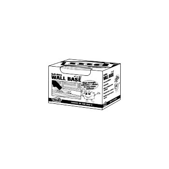 M-D Bldg Prods 93161 4in. X20ft. Br V.Cove Wall Bs