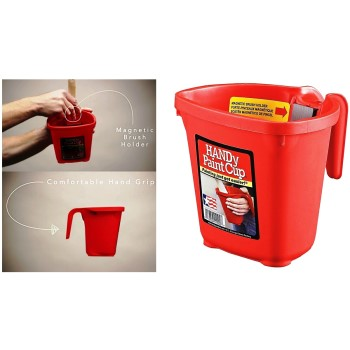 HANDy Paint Products 1500-CT Paint Cup w/Handle ~ Pint Capacity