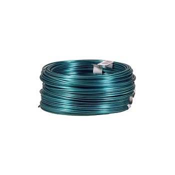 Dand-O-Line Plastic Coated Wire, Green ~ #19 x 50 Ft Roll