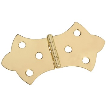 Brass Hinge, Visual Pack 1814 1 11 /16x3 1/16 inches