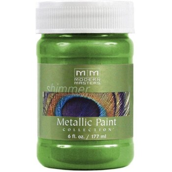 Metallic Paint, Green Apple 6 Ounce