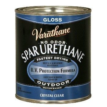 Rust-Oleum 250041 Varathane Spar Urethane,  Clear Gloss ~ Quart