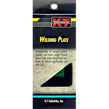 """K-T Ind 4-1109 Welding Filter Plates, Shade #9 ~ 2"""" x 4 1/4"""""""