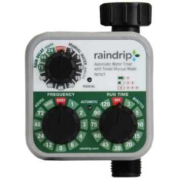Raindrip Electronic Water Timer ~ Single Station