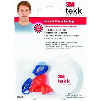 Ear Plugs - Reusable Corded