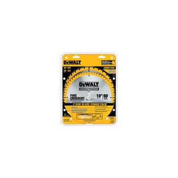 Saw Blade Combo Pack - 10""