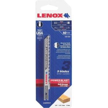Lenox (Stanley Black & Decker) 1991389 3pk 10t Jig Blade