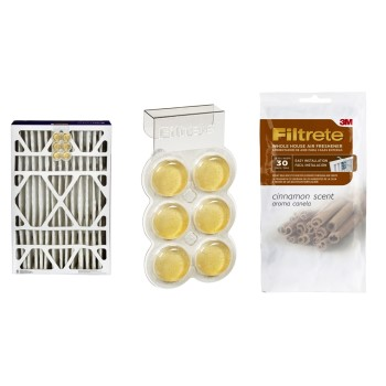 3M SI-1-C Filtrete Whole House Air Freshener ~ Cinnamon