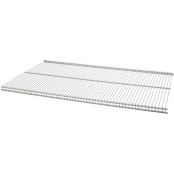 "FreedomRail Ventilated Shelving, White  ~ 48"" x 12"""