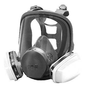 3M 05113866056 Respirator - Full Face Paint Spray Assembly 05113866056