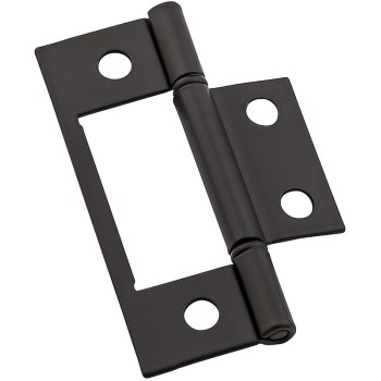 Surface Mounted Hinges, Oil Rubbed Bronze ~ 3""
