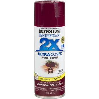 Rust-Oleum 249863  Painters Touch 2x Ultra Spray, Cranberry Gloss