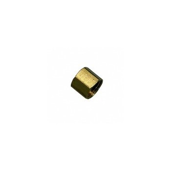 Lead-Free Bar Stock Brass Cap ~ 1/4""