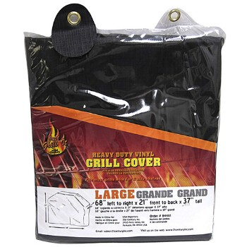 BBQ Vinyl Grill Cover - Large