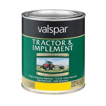 Tractor & Implement Paint, Yellow ~ Quart
