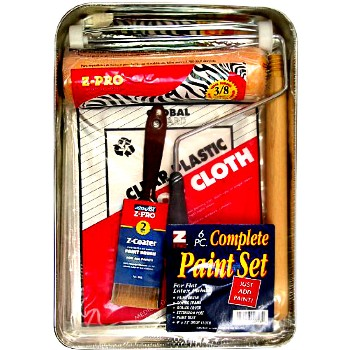 Paint Tray Kit ~ 6 Piece for Latex Paint