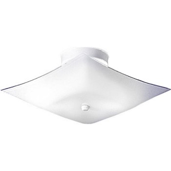 Ceiling Fixture - Square Light, 17""