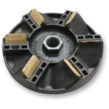 "Simiron 50001049 DiamaBrush Tool for Wood Decks and Siding ~ 4 1/2"""