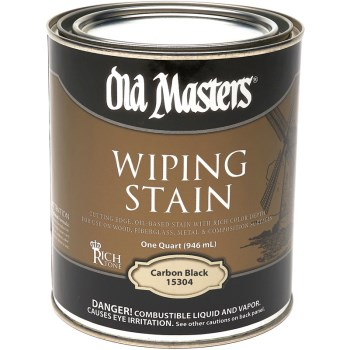 Qt Carb Blk Wiping Stain