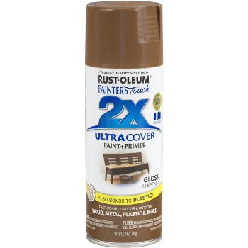 Rust-Oleum 249847 Painters Touch 2X Ultra, Chestnut Gloss ~ 12 oz Spray