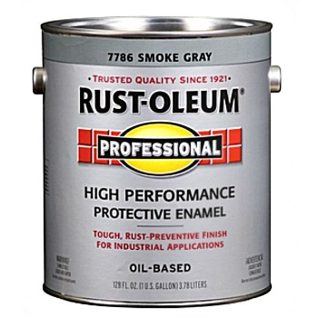 Rust-Oleum 7786402 Protective Enamel, Smoke Gray ~ One Gallon