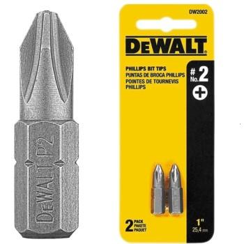 DeWalt DW2002 Insert Bit Tips ~  #2 Phillips