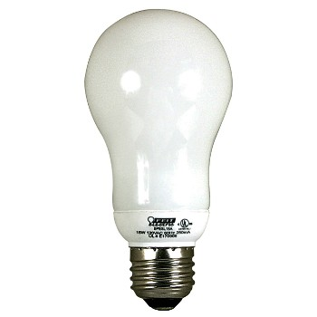 CFL Lightbulb, A-Shape, 60 Watt Equivalent