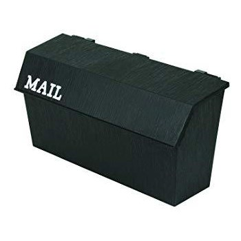 Flambeau 6534MB Classic Wall Mount Mailbox ~ Textured Black