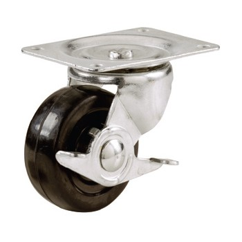 Swivel Caster w/Side Brake ~ 2""