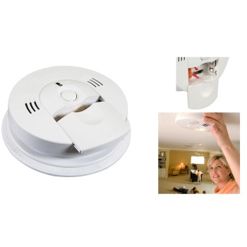 Kidde 900-0102-02 NightHawk Smoke & Carbon Monozide Detector,  White