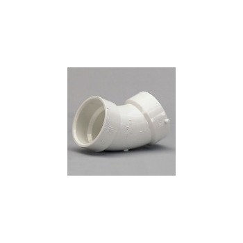 45 Degree Sanitary Elbow, 1 1/2 inch