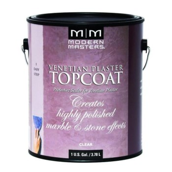 Venetian Plaster ~ Topcoat Clear Satin/One Gallon