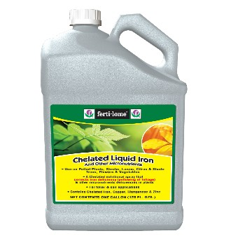 Liquid Iron ~ Chelated,  One Gallon