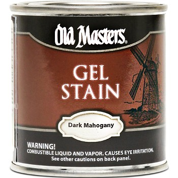 Gel Stain,  Dark Mahogany ~ Quart