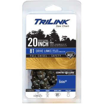 TriLink 0325 Full Chisel Chain Saw Chain ~ 20""