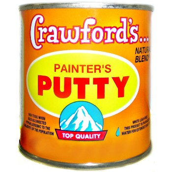 Painters Putty ~ Lead Free,  White - 1/2 Pint