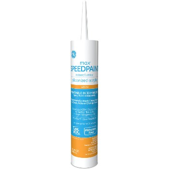 GE GE5574912C Speedpaint Caulk, White