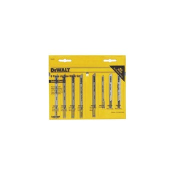 "Jigsaw Blade Set - ""U"" Shank -  8 piece"