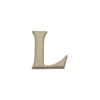 House Letter L,   Simulated Wood-Grain Letter ~ 7""